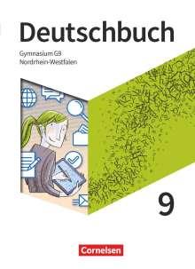 Christoph Fischer: Deutschbuch Gymnasium 9. Schuljahr - Nordrhein-Westfalen - Schülerbuch, Buch