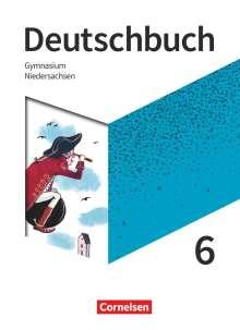 Christine Eichenberg: Deutschbuch Gymnasium 6. Schuljahr- Niedersachsen - Schülerbuch, Buch
