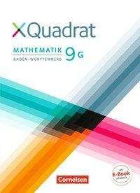 XQuadrat 9. Schuljahr - Baden-Württemberg  - Schülerbuch. Für G-Klassen, Buch