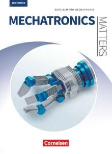 Georg Aigner: Matters Technik A2-B2 - Mechatronics - Englisch für Mechatronik, Buch