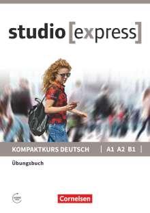 Hermann Funk: studio [express] A1-B1 - Übungsbuch, Buch