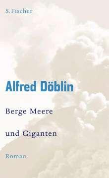 Alfred Döblin: Berge Meere und Giganten, Buch