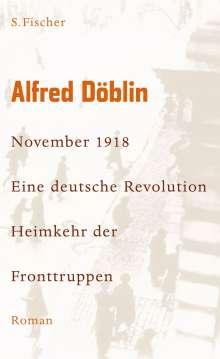 Alfred Döblin: November 1918 - Eine deutsche Revolution, Buch