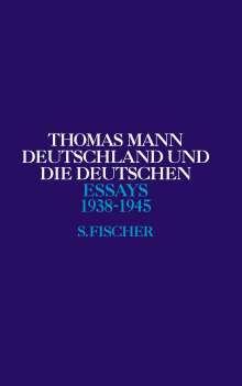 Thomas Mann: Deutschland und die Deutschen, Buch