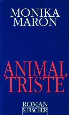 Monika Maron: Animal triste, Buch