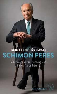 Schimon Peres: Mein Leben für Israel, Buch