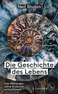 Neil Shubin: Die Geschichte des Lebens, Buch