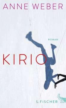 Anne Weber (geb. 1964): Kirio, Buch