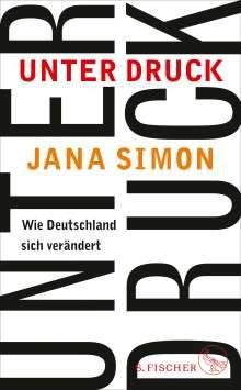 Jana Simon: Unter Druck, Buch