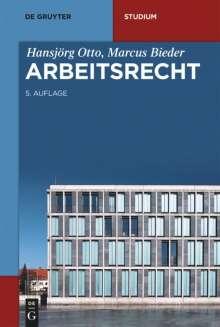Hansjörg Otto: Arbeitsrecht, Buch