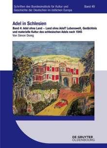 Simon Donig: Adel ohne Land - Land ohne Adel?, Buch