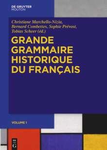 Grande Grammaire Historique du Français (GGHF), Buch