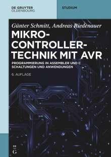 Günter Schmitt: Mikrocontrollertechnik mit Atmel AVR, Buch