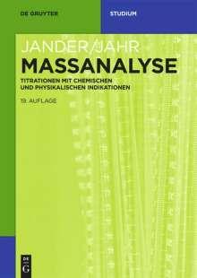 Massanalyse, Buch