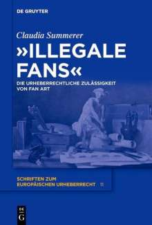 """Claudia Summerer: """"Illegale Fans"""", Buch"""
