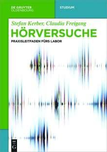 Stefan Kerber: Hörversuche, Buch
