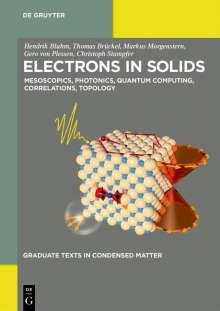 Hendrik Bluhm: Electrons in Solids, Buch