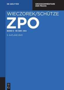 Zivilprozessordnung und Nebengesetze §§ 300-354, Buch