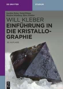 Joachim Bohm: Einführung in die Kristallographie, Buch
