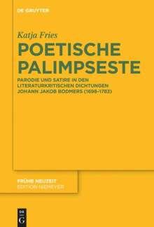 Katja Fries: Poetische Palimpseste, Buch