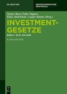 Investmentgesetze 2. §§ 91 - 213 KAGB; InvStG, Buch