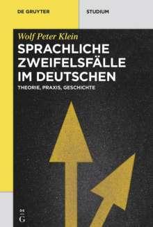 Wolf Peter Klein: Sprachliche Zweifelsfälle im Deutschen, Buch