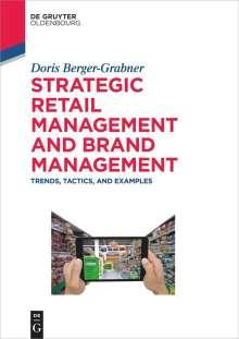 Doris Berger-Grabner: Strategic Retail Management and Brand Management, Buch