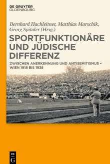Sportfunktionäre und jüdische Differenz, Buch