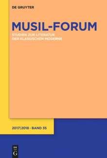 Musil-Forum Band 35 (2017/2018), Buch