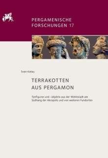 Sven Kielau: Terrakotten aus Pergamon, Buch