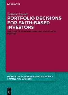 Zaheer Anwer: Portfolio Decisions for Faith-Based Investors, Buch