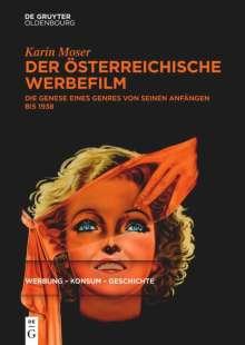 Karin Moser: Der österreichische Werbefilm, Buch