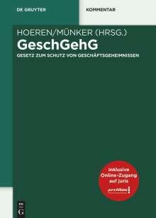 GeschGehG, Buch