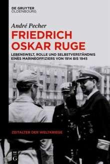 André Pecher: Friedrich Oskar Ruge, Buch