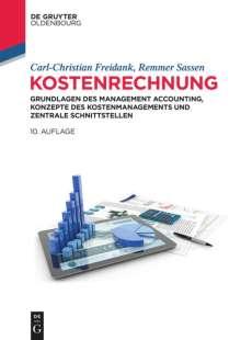 Carl-Christian Freidank: Kostenrechnung, Buch
