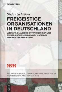 Stefan Schröder: Freigeistige Organisationen in Deutschland, Buch