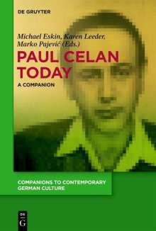 Paul Celan Today, Buch
