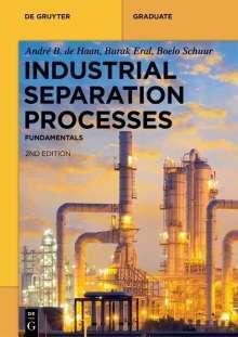 André B. de Haan: Industrial Separation Processes, Buch