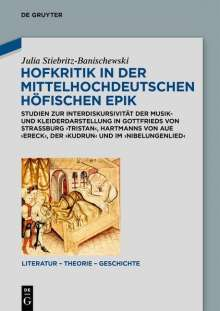 Julia Stiebritz-Banischewski: Hofkritik in der mittelhochdeutschen höfischen Epik, Buch