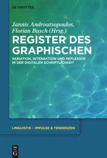 Register des Graphischen, Buch
