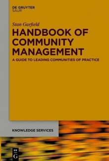 Stan Garfield: Handbook of Community Management, Buch