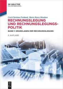 Carl-Christian Freidank: Rechnungslegung und Rechnungslegungspolitik 01, Buch