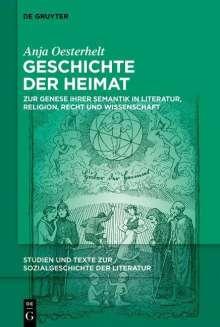 Anja Oesterhelt: Geschichte der Heimat, Buch