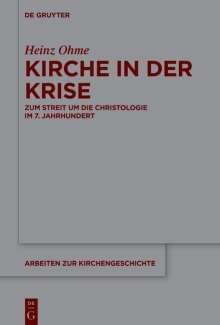 Heinz Ohme: Kirche in der Krise, Buch