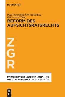 Reform des Aufsichtsratsrechts, Buch