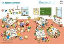 Deutschrad 1/2. Poster Wimmelbilder Klasse 1+2, Diverse