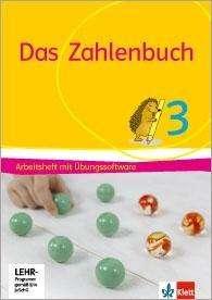 Erich Ch. Wittmann: Das Zahlenbuch / Arbeitsheft mit Übungssoftware 3. Schuljahr. Allgemeine Ausgabe ab 2017, Buch