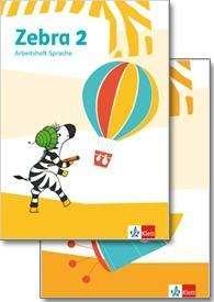 Zebra 2. Paket: Arbeitsheft Lesen/Schreiben/Arbeitsheft Sprache, Buch