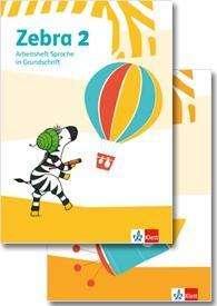 Zebra 2. Paket: Arbeitsheft in Grundschrift, Arbeitsheft Lesen/Schreiben Klasse 2, Buch