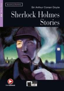 Arthur Conan Doyle: Sherlock Holmes Stories. Buch + CD-ROM, Buch